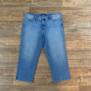 Bandolino Capris Jeans Size 16!